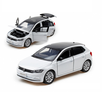 1:32 New Polo-PLUS Simulation Toy Vehicles Model Alloy Children Toys Genuine License Gift Collection Off-Road Car Kids