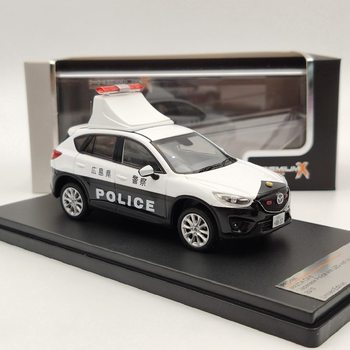 1/43 Premium X For MAZDA CX5 2013 Japanese Police/AMBULANCE Diecast Models Auto Car Gift Collection