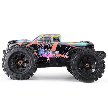 Eachine EAT02 1:8 4WD 2.4 G Remote Control RC Car pompa bezszczotkowy Big Foot High Speed 90km/h Drift Vehicle Models Truck Metal Chassis