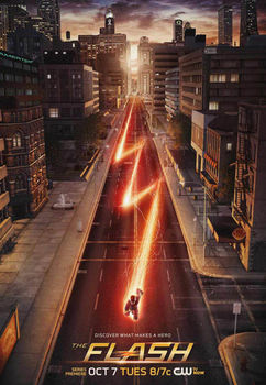 Home Decor The Flash TV Show 1-Silk Art Poster Wall Sticker Decoration Gift