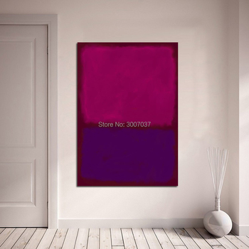 Mark Rothko Hand Painted Oil Painting Wall Oil Art Picture Home Decor Canvas painting for Living Room Modern Oil Painting