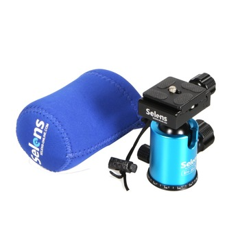 Selens Mini Ball Head Ballhead podstawka do statywu adapter w/Quick Release Plate Canon Nikon Sony DSLR Camera Camcorder
