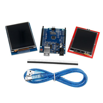 Ulepszona wersja 2.8 TFT LCD Touch Screen 2.4 TFT Touch Screen Display Module Kit dla Arduino UNO R3