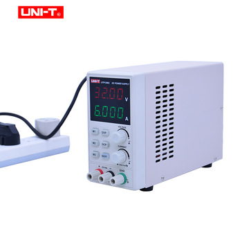 UNIT UTP1306S DC Power Supply Variable,32V/6A Adjustable Switching Regulated Power Supply Digital,with Crocodile clip 220V 50Hz