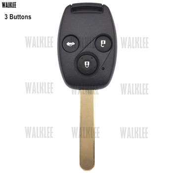 WALKLEE 72147-TAO-W2 zdalny klucz do Honda Accord Civic CR-V HR-V Fit Insight City Jazz Odyssey 5WK49309 433.92 Mhz